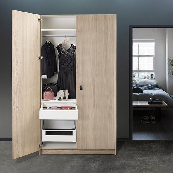 EverydaySafe™ in a wardrobe